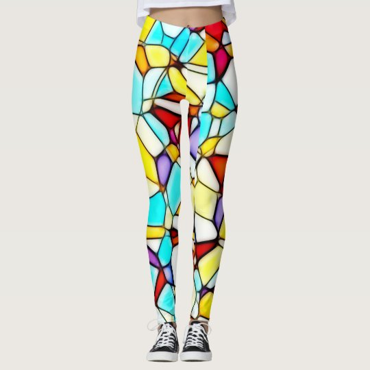 Abstract Art Custom Leggings
