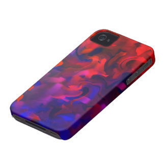 Abstract Art Design Number 1 iPhone 4 Case