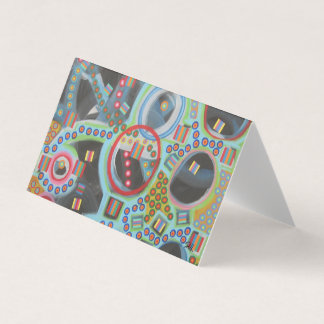 "Abstract Art Designer 25Pk. Note Cards ""Blackhole"""
