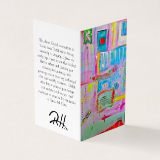 "Abstract Art Designer 25Pk. Note Cards ""Boules"""