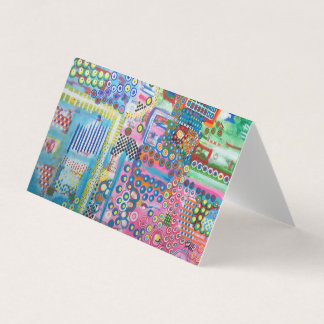 "Abstract Art Designer 25Pk. Note Cards ""Dots"""