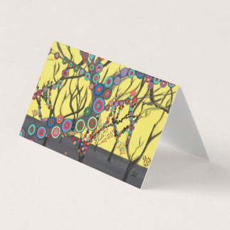"Abstract Art Designer 25Pk. Note Cards ""Forest"""