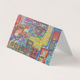"Abstract Art Designer 25Pk. Note Cards ""Polka Dot"""