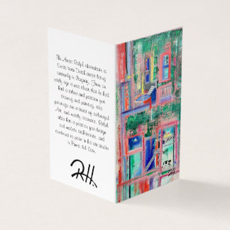 "Abstract Art Designer 25Pk. Note Cards ""Spa Day"""