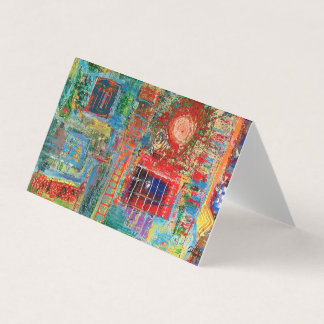 "Abstract Art Designer 25Pk. Note Cards""Sunburst"" Card"