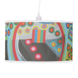 "Abstract Art Designer Pendant Lamp ""Blackhole"""