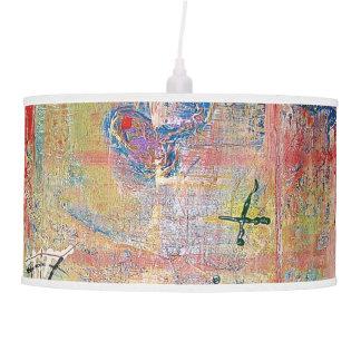 "Abstract Art Designer Pendant Lamp ""Cross"""