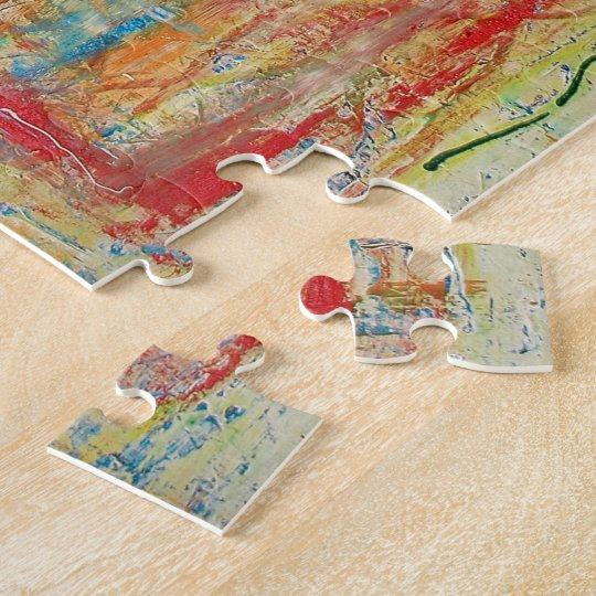 """Abstract Art Designer Puzzles & Games """"Cross"""""""