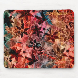 Abstract Art Flower Pattern 3 Mouse Pads