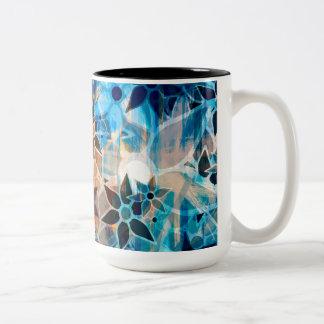 Abstract Art Flower Pattern 4 Mug