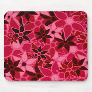 Abstract Art Flower Pattern 5 Mouse Pad