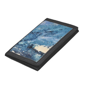 Abstract Art - Frost Bane Trifold Wallets