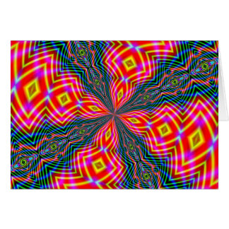 ABSTRACT ART GREETING CARD