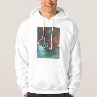 abstract art hooded sweatshirts