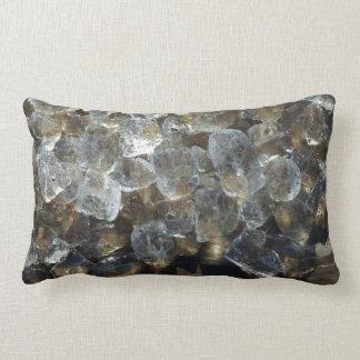 Abstract Art Ice Creative Photography Lumbar Pillow