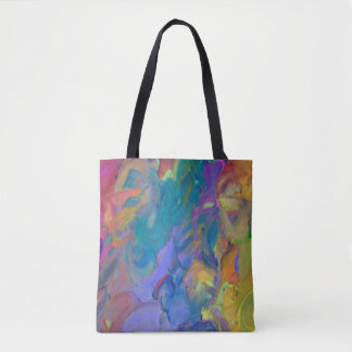 Abstract Art in Frosting Tote Bag
