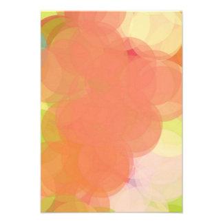 Abstract Art Custom Invitation