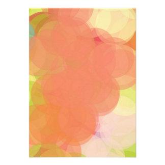 Abstract Art Invitation