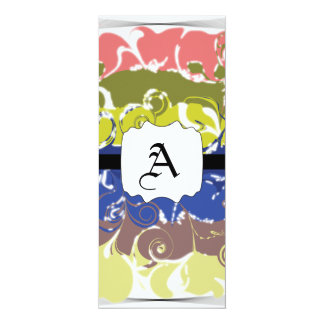 Abstract Art Personalized Announcements