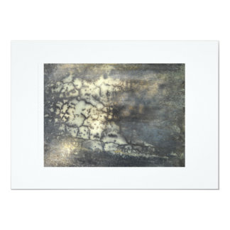 Abstract Art 5x7 Paper Invitation Card
