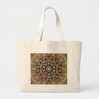 ABSTRACT ART JUMBO TOTE BAG