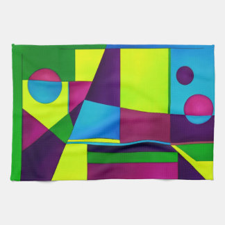 Abstract Art Kitchen Towel