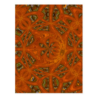 Abstract Art Labyrinth Postcard