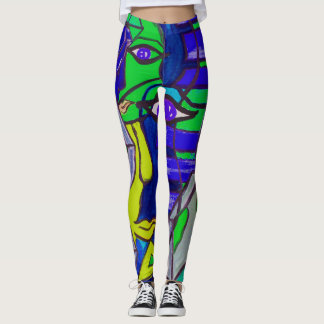 Abstract Art Leggings