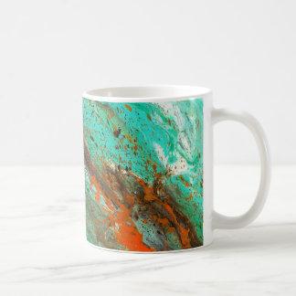Abstract Art - Lush Earth Coffee Mug