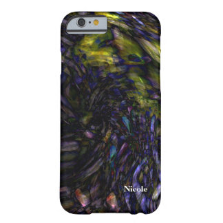 Abstract Art Modern Color Splash Artistic Colorful Barely There iPhone 6 Case