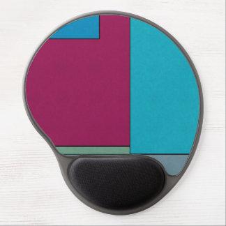 Abstract Art Modern Geometric Color Fields Retro Gel Mousepads