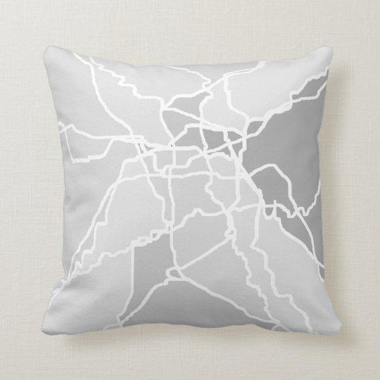 abstract art modern style original design pillow