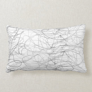abstract art modern style original design pillow