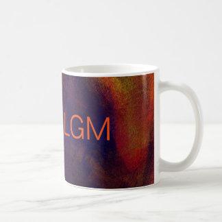 Abstract Art Monogram Template Coffee Mug