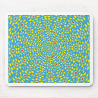 ABSTRACT ART) MOUSE PAD