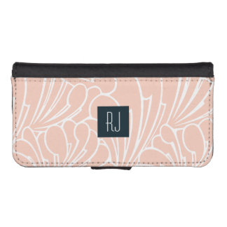 Abstract Art Nouveau Phone Wallet Case