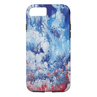 Abstract Art on Apple iPhone 8/7, Tough Phone Case