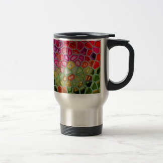 Abstract art painting posters cards t-shirts print 15 oz stainless steel travel mug