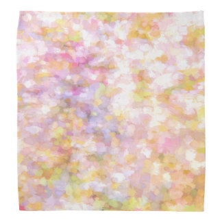 Abstract Art Pale Yellow Pastel Kerchief
