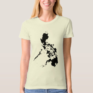 Abstract Art - Philippine Map T-Shirt