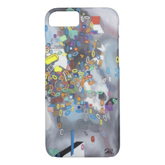 """Abstract Art Phone Case """"Pool Day"""""""