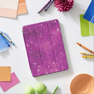 Abstract Art Pink and Purple Universe iPad Air Cover