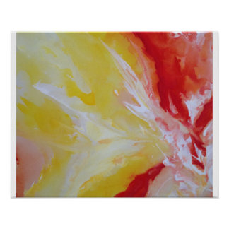 Abstract Art Poster Paper