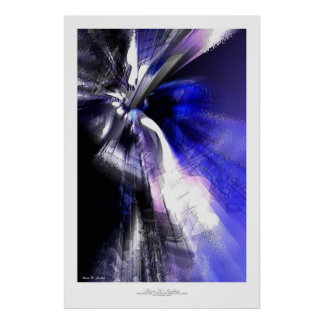 Abstract Art Print - Deodatus #3