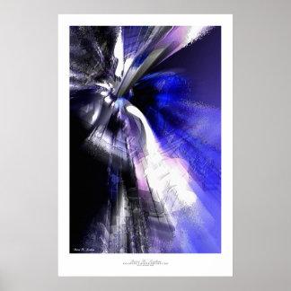 Abstract Art Print - Deodatus #3