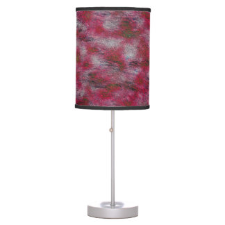 Abstract Art  Purple Dye background Table Lamp