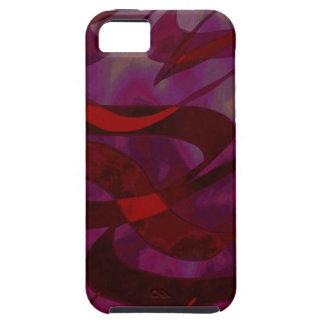 Abstract Art Purple Haze iPhone 5 Case