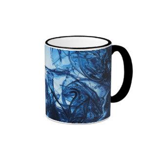 Abstract Art Ringer Mug