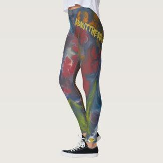 Abstract art rocks these Leggin's! Leggings