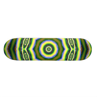 ABSTRACT ART SKATE BOARD